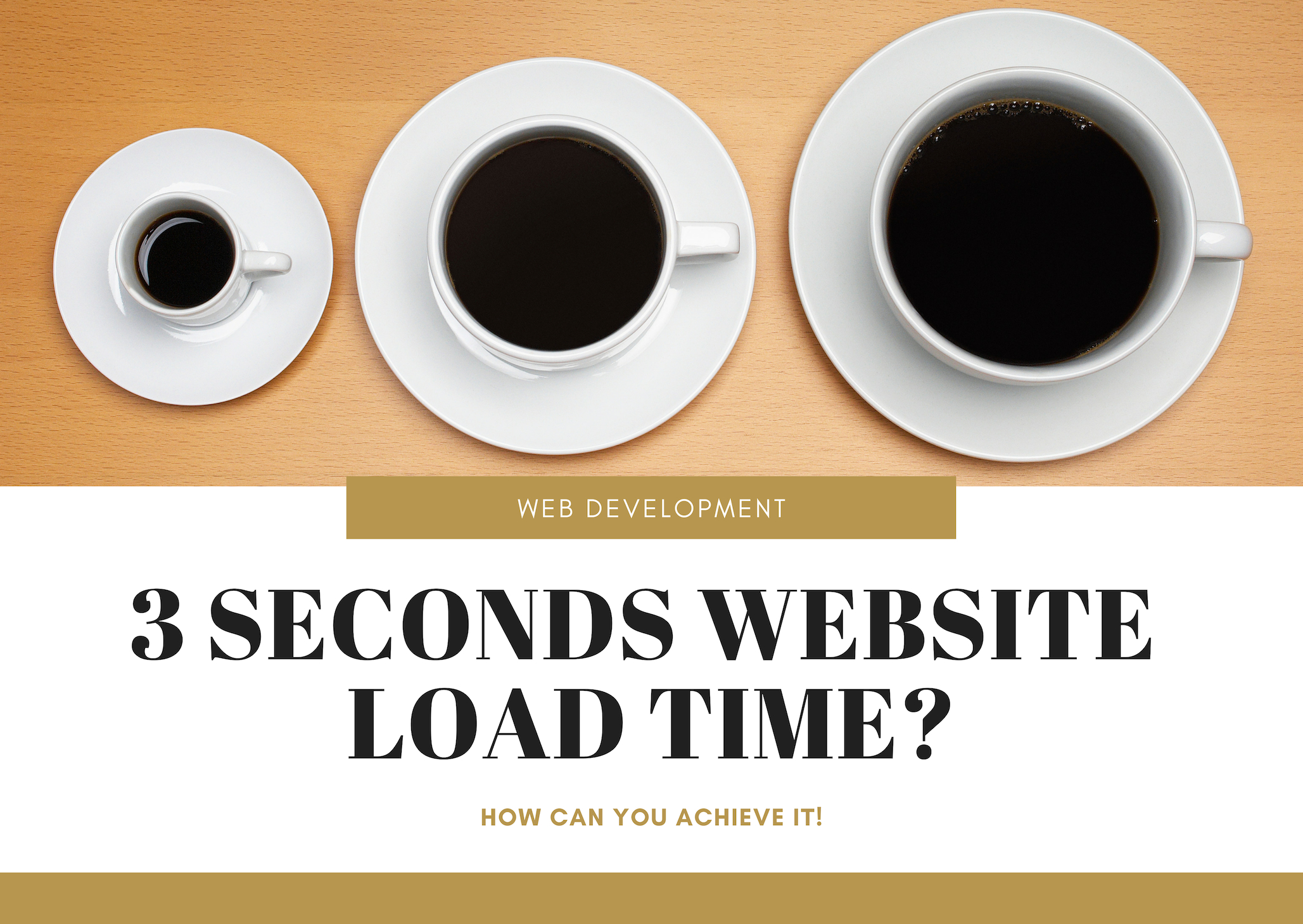 3 Seconds Website Load Time? How Can You Achieve It!