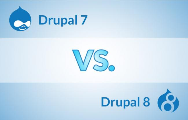 Main Differences Between Drupal 7 and Drupal 8
